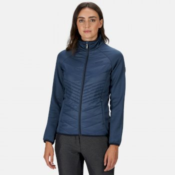 Regatta Women's Clumber Hybrid Lightweight Insulated Quilted Walking Jacket - Dark Denim