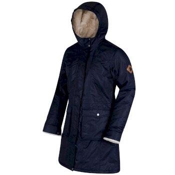 Regatta Roanstar II Breathable Waterproof Insulated Parka Jacket Navy