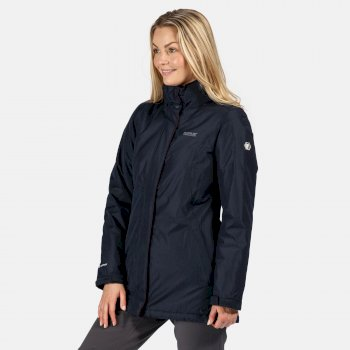 Regatta Women's Blanchet II Waterproof Insulated Jacket - Navy