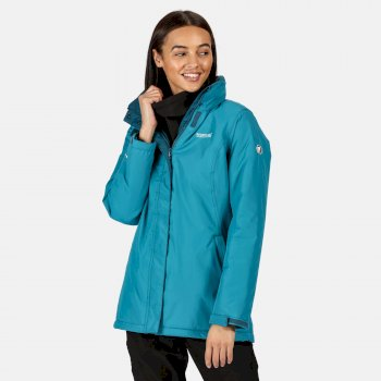 Regatta Women's Blanchet II Waterproof Insulated Jacket - Ocean Depths