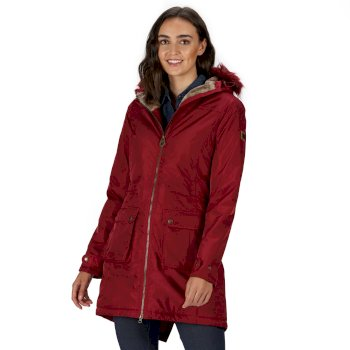 Regatta Lucasta Waterproof Insulated Jacket - Rumba Red