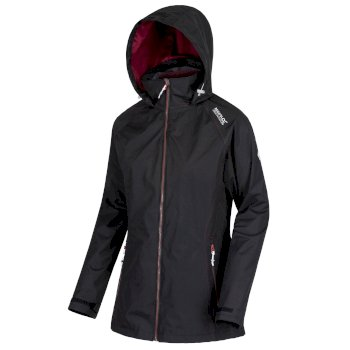 Regatta Women's Premilla II Waterproof 3 in 1 Jacket - Black Fig