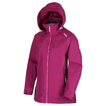 Regatta Women's Premilla II Waterproof 3 in 1 Jacket - Beetroot Burgundy