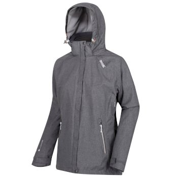 Louisiana V - Damen 3-in-1-Jacke Magnet Grey