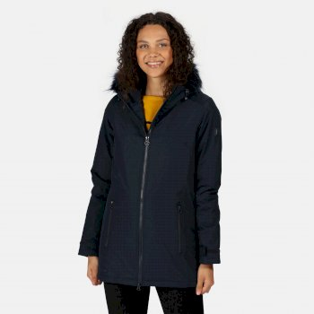 Regatta Women's Myla Waterproof Insulated Jacket - Navy