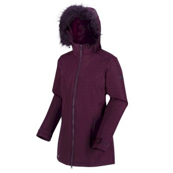 Regatta Women's Myla Waterproof Insulated Jacket - Dark Burgundy