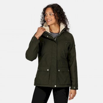 Regatta Women's Loretta Waterproof Insulated Jacket - Dark Khaki