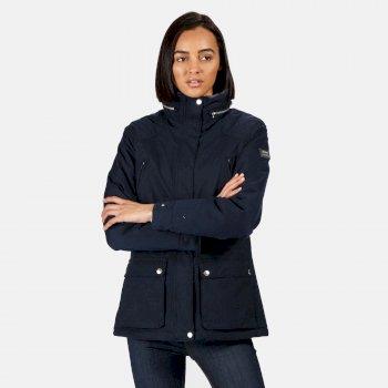 Loretta wasserdichte, isolierte Jacke für Damen Blau