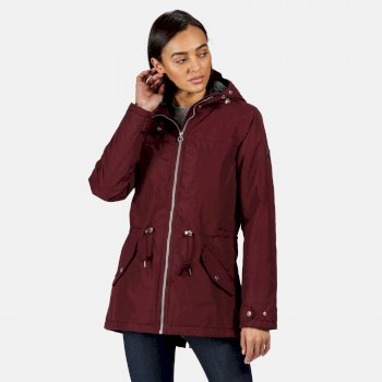 Regatta Women's Brigid Waterproof Insulated Hooded Jacket - Dark Burgundy