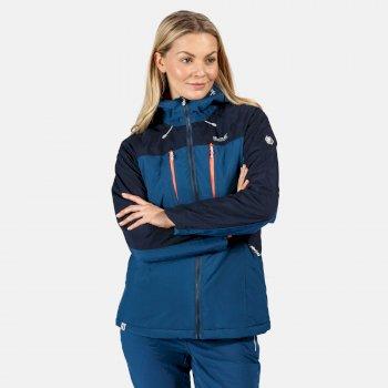 Regatta Women's Highton Stretch Waterproof Insulated Padded Walking Jacket - Blue Opal Navy