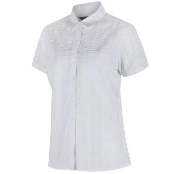 Regatta Jerbra II Coolweave Cotton Shirt - White