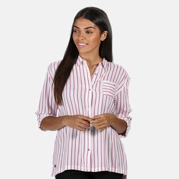 Meera Langarmshirt für Damen Violett