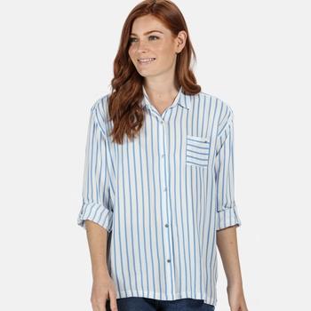 Meera Langarmshirt für Damen Blau