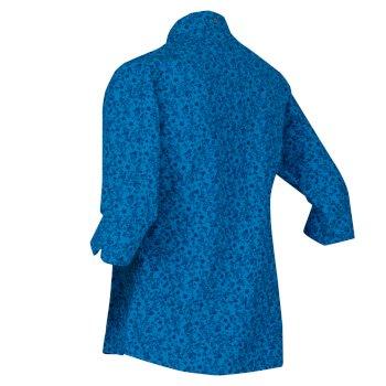 Nimis III 3/4-langes Shirt für Damen Blau