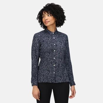 Marilee Langarmshirt für Damen Blau