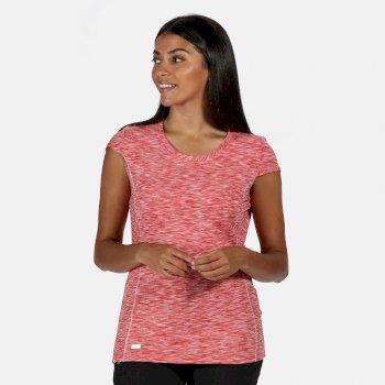 Hyperdimension schnell trocknendes T-Shirt für Damen Rot