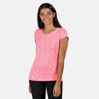 Hyperdimension schnell trocknendes T-Shirt für Damen Violett