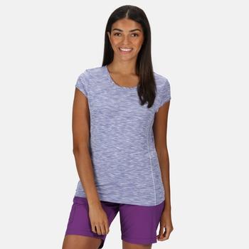 Josie Gibson Hyperdimension Quick Dry T-Shirt - Lilac Bloom
