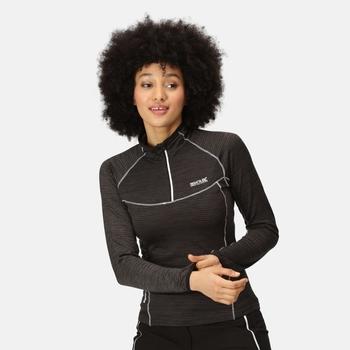 Yonder Fleeceshirt für Damen Schwarz
