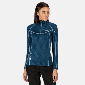 Yonder Fleeceshirt für Damen Blau
