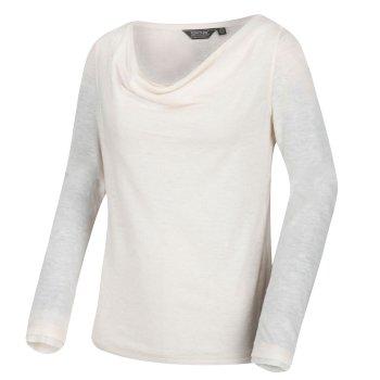 Frayda leichtes Wollshirt für Damen Vanille