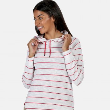 Regatta Women's Merindah Hoodie - Virtual Pink Stripe