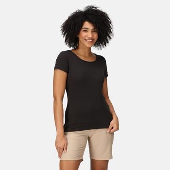 Carlie T-Shirt für Damen Schwarz