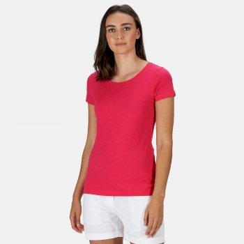 Carlie T-Shirt für Damen Rosa