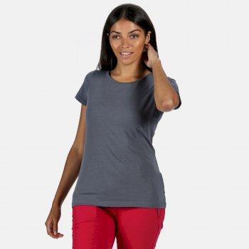 Carlie T-Shirt für Damen Grau