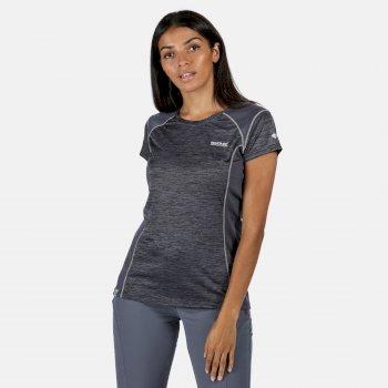 Breakbar V Active T-Shirt für Damen Grau