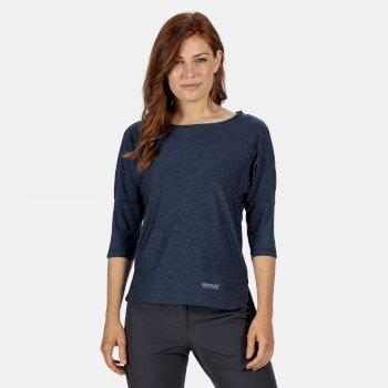 Pulser T-Shirt mit 3/4-Arm für Damen Blau
