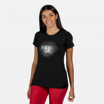 Fingal V Graphic T-Shirt für Damen Schwarz