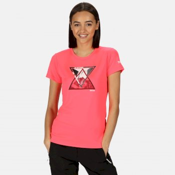 Fingal V Graphic T-Shirt für Damen Rosa