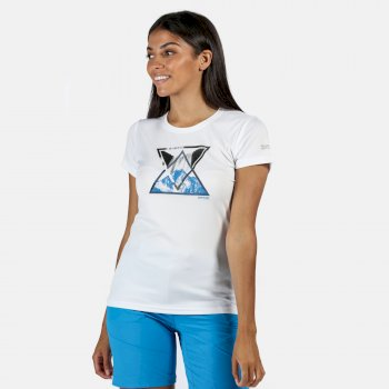 Fingal V Graphic T-Shirt für Damen Weiß
