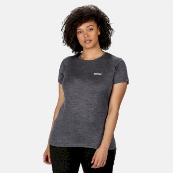 Fingal V Graphic T-Shirt für Damen Grau