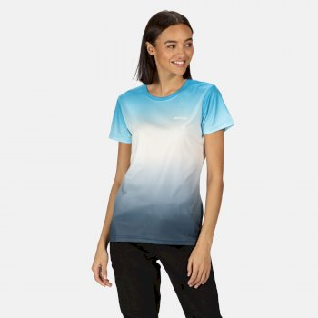 Fingal V Graphic T-Shirt für Damen Blau