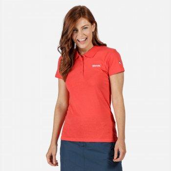Sinton Polo-Shirt für Damen Rot