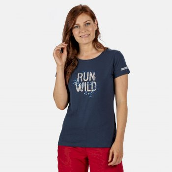 Regatta Women's Breezed Graphic T-Shirt - Dark Denim