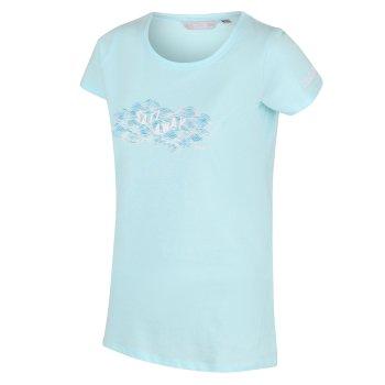Breezed Graphic T-Shirt für Damen Blau