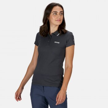 Maverick V Polo-Shirt für Damen Grau