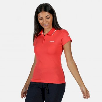 Maverick V Polo-Shirt für Damen Rot