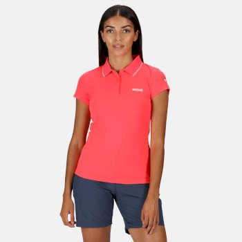 Maverick V Polo-Shirt für Damen Rosa