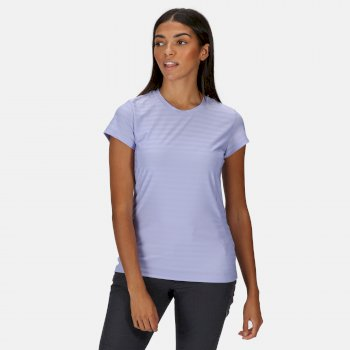 Regatta Women's Breakbar VI Active T-Shirt - Lilac Bloom