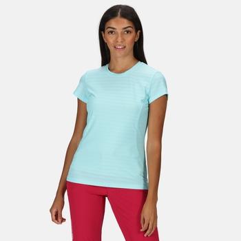 Regatta Women's Breakbar VI Active T-Shirt - Cool Aqua