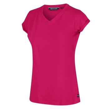 Fyadora Coolweave-T-Shirt für Damen Rosa