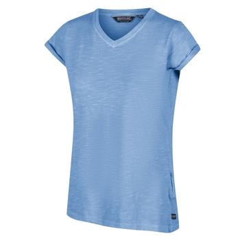Fyadora Coolweave-T-Shirt für Damen Blau