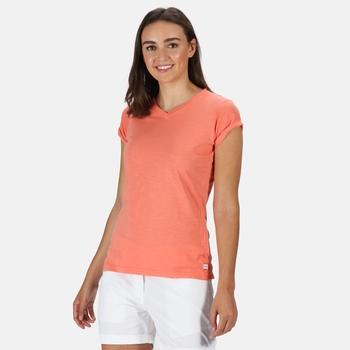 Fyadora Coolweave-T-Shirt für Damen Orange