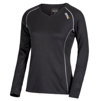 Regatta Women's Beckley Overhead Base Layer Top Ash