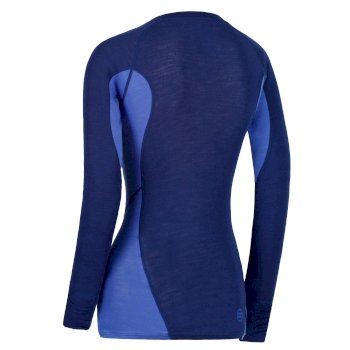 Regatta Women's Beru Overhead Base Layer Top - Twilight Dazzling Blue
