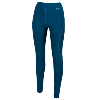 Regatta Women's Zimba Merino Wool Base Leggings - Moroccan Blue
